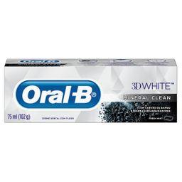 Creme Dental Oralb 3D Mineral Clean 102 g