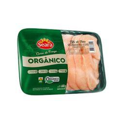 Filé Peito Em Bifes Orgânico Seara 600 g