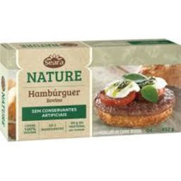 Hambúrguer Tradicional Seara Nature 452 g