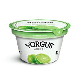 Iogurte Grego Yorgus Integral Com Limão