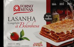 Lasanha Forno De Minas Bolonhesa 600 g