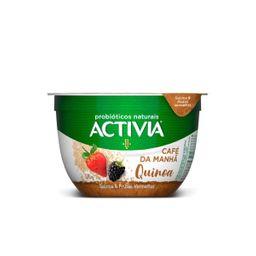 Leite Fermentado Café Manhã Quinoa E Fru Vermelhas Activia 170 g