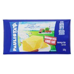 Manteiga Com Sal Paulista 200 g