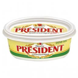 Manteiga Com Sal President Pote 200 g