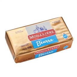 Manteiga Monastere Sem Sal Tablete 200 g
