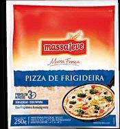 Massa Para Pizza De Frigideira Massa Leve 250 g