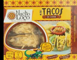 Mini Tacos Nacho Loco Carne 400 g