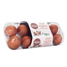 Ovos Fazenda Da Toca Vermelho Orgânico Caipira Grande Com 18 Und