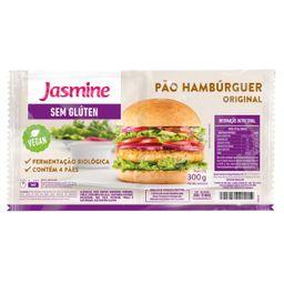 Pão De Hamburguer Orig Sem Glúten Jasmine 300 g