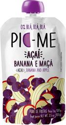 Pic-Me Açaí Banana E Maçã 100 g