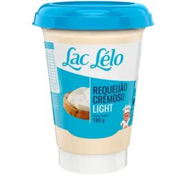 Requeijão Cremoso Lac Lelo Light 180 g
