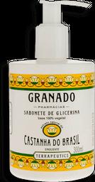 Sabonete Líquido Granado Castanha Do Brasil Terrapeutics 300 mL