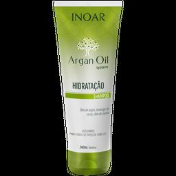 Shampoo Inoar Argan Oil Bisnaga 240 mL