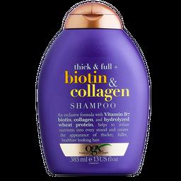 Shampoo Ogx Biotin Collagen 385 mL