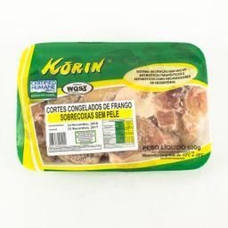 Sobrecoxa Sem Pele Sem Transgênico Congelado Korin 600 g