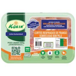 Sobrecoxa Sem Transgênico Resfriado Korin 600 g