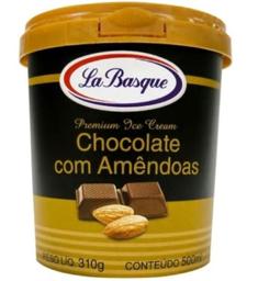 Sorvete Fior Latte Com Amêndoas La Basque 500 mL
