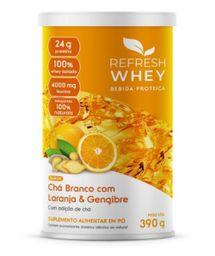 Suplemento Alimentar Pó Refresh Chá Branco Laranja/Gengibre 30 g