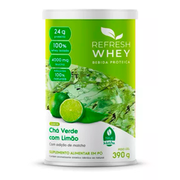 Suplemento Alimentar Pó Refresh Chá Verde Limão 30 g