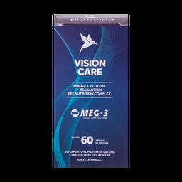 Vinho Vision Care Ômega 3 Pura Vinho Vida 60 Cápsulas