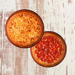 2 x 1 Pizza Grande mais um Refrigerante