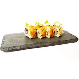 Uramaki de Cenoura e Shimeji - 4 Unidades