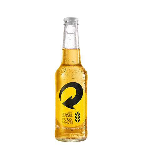 Skol Cerveja Puro Malte Long Neck