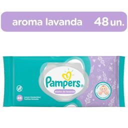 Lenço Umedecido Pampers Com 48 Und