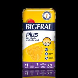 Fralda Geriátrica Bigfral Plus Xg 7 Und
