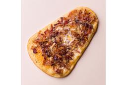 Pizza de Bacon - Pedaço