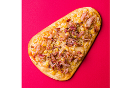 Pizza Corn e Bacon - Pedaço