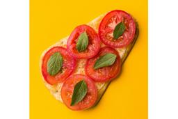 Pizza Margarita - Pedaço