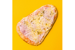 Pizza de Presunto - Pedaço