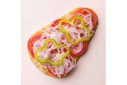 Pizza Vegetariana - Pedaço