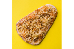 Pizza de Strogonoff de Frango - Pedaço