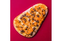 Pizza Mignon com Cheddar - Pedaço