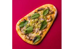 Pizza Shitake - Pedaço