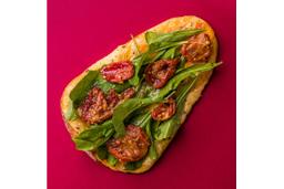 Pizza de Tomate Seco - Pedaço