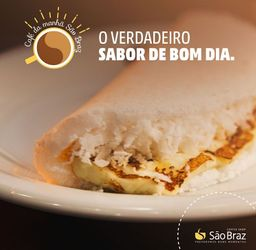 Combo Tapioca de Coco e Queijo Coalho + Bebida