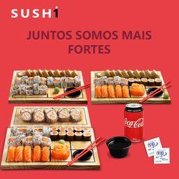 Combo Coca-Coca JUNTOS SOMOS MAIS FORTES + Kit Shoyu
