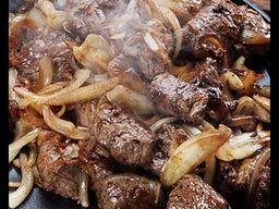 Carne bovina acebolada 400 gr