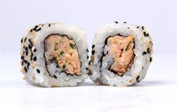 Uramaki salmão grelhado 8 unidades