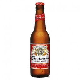 Cerveja long neck budweiser