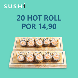 Kit 20 Hot Roll