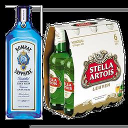 Compre&Ganhe - Compre Gin Bombay e Leve Pack Stella Artois