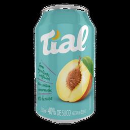 Suco Pêssego Tial Lata 335 ml