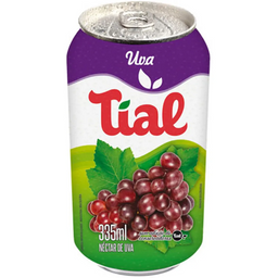 Suco Uva Tial lata 335 ml