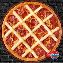 Pizza de Pepperoni com Catupiry - Média
