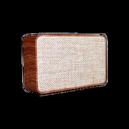 Caixa De Som X500 Bluetooth Madeira