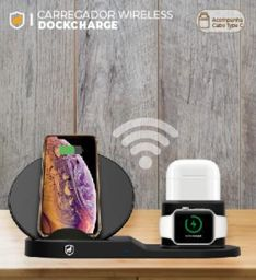 Carregador Wireless Dockcharge